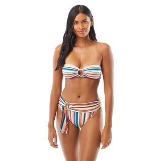 Vince Camuto Bandeau Bikini Top - Multi Stripe