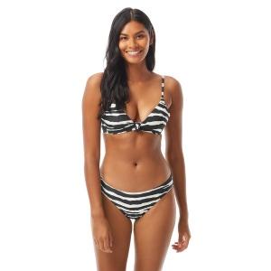 Vince Camuto Knotted Bikini Top - Zebra