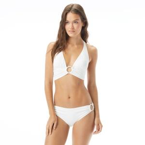 Carmen Marc Valvo Halter Bikini Top - Saint Tropez