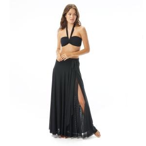 Carmen Marc Valvo Mesh Maxi Skirt Cover Up - Marche de Solids