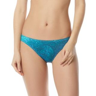 Carmen Marc Valvo Classic Bikini Bottom - Sea Shades