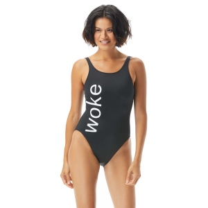 zero waste daniel high neck one piece swimsuit - call to action