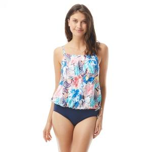 Beach House Audrey Blouson Tankini Top - Bohemian Bloom
