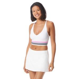 Beach House Sport Focus Halter Bikini Top - True Stripes