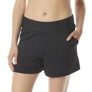 Beach House Farrah Cover Up Shorts - Beach Solids
