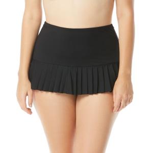 Beach House Plus Size Sophie Pleated Skirt Swim Bottom - Paloma Beach