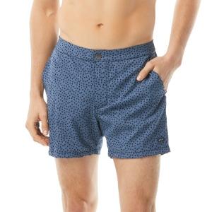 John Varvatos Malibu Men's Swim Short - Bedrock Dot