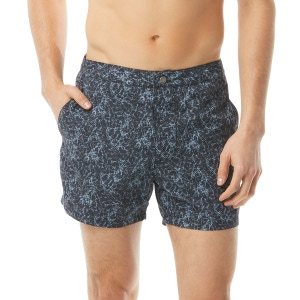 John Varvatos Malibu Swim Short - Coral Print