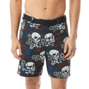 John Varvatos Atwater Swim Short - Skull Print