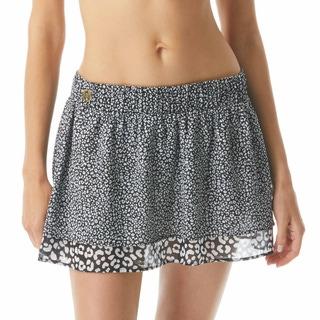 MICHAEL Michael Kors Cover Up Skirt - Animal Blend