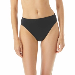 MICHAEL Michael Kors High Waisted Bikini Bottom - Solids