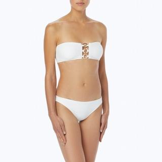 MICHAEL Michael Kors Bandeau Bikini Top - Sea Side Texture
