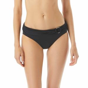 MICHAEL Michael Kors Belted Logo Ring Bikini Bottom - Iconic Solids