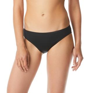 MICHAEL Michael Kors Logo Ring Cheeky Bikini Bottom - Iconic Solids