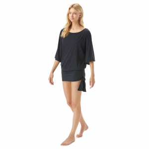 MICHAEL Michael Kors Side Tie Cover Up - Iconic Solids