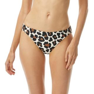 MICHAEL Michael Kors Classic Bikini Bottom - Large Leopard