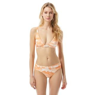 MICHAEL Michael Kors Triangle Bikini Top - Camo