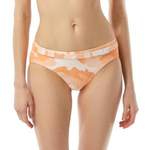 MICHAEL Michael Kors Belted Bikini Bottom - Camo