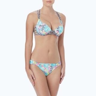 Coco Rave: The Bikini Edit - Cameron Cross Back Bra Sized Underwire Bikini Top - Party Hardy