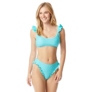 Coco Rave Jax Ruffle Scoop Neck Bikini Top - Material Gurl