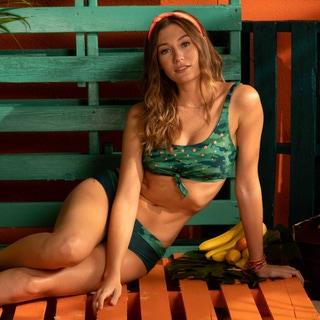 Coco Rave Rebel Tie Front Bikini Top - Precious Cargo