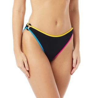 Coco Rave Tyler High Leg Bikini Bottom - Block Party