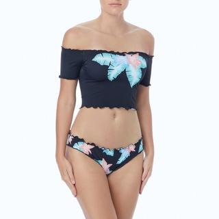 Coco Rave Heather Off the Shoulder Bikini Top - Miami Spice