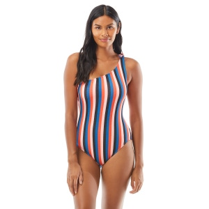 Kate Spade Bunny Tie One Shoulder One Piece Swimsuit - Sunset Beach