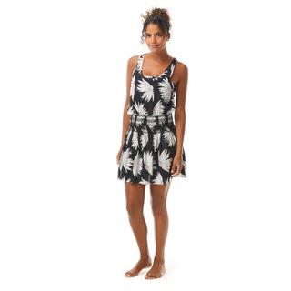 Kate Spade Smocked Cover Up Dress - Falling Flower