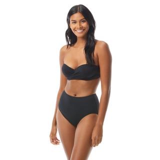 Kate Spade Molded Cup Bandeau Underwire Bikini Top - Palm Beach