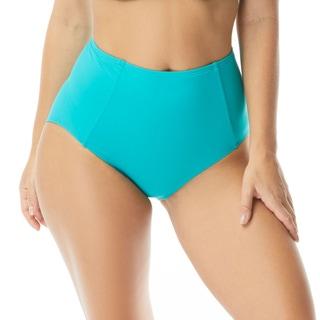Contours by Coco Reef Garnet Princess Seam High Waist Bikini Bottom - Keepsake