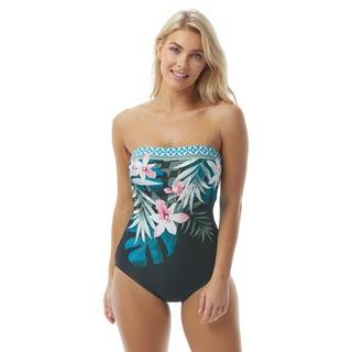 Contours by Coco Reef Galena Bandeau Bra Sized One Piece Swimsuit - Isla