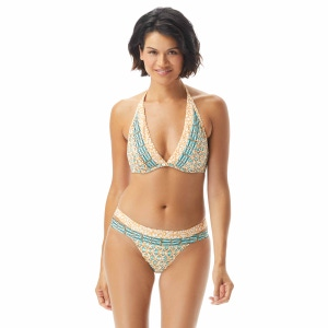 Coco Reef Bliss Halter Bra Sized Underwire Bikini Top - Zanzibar
