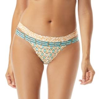 Coco Reef Bliss Classic Cut Out Bikini Bottom - Zanzibar