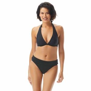 Coco Reef Desire Halter Bra Sized Underwire Bikini Top - Cascade Fringe