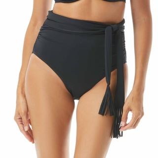 Coco Reef Revel High Waist Convertible Bikini Bottom - Cascade Fringe