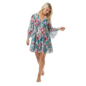 Coco Reef Enchant Cover Up Dress - Aloha Allure