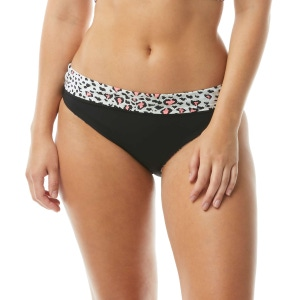 Coco Reef Verso High Waist Reversible Bikini Bottom - Wild Card