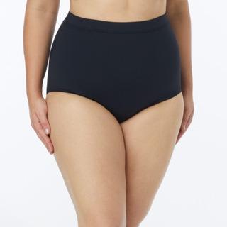 Coco Reef Plus Size Power Pant High Waist Bikini Bottom - Classic Solids