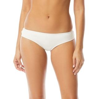 Vince Camuto Shirred Smooth Fit Cheeky Bikini Bottom - Riviera Solids