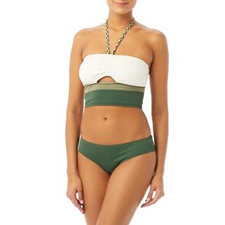 Vince Camuto Bandeau Crop Bikini Top - Sun Block