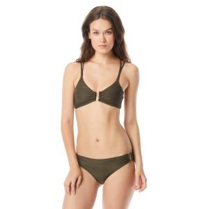 Vince Camuto Texture Bralette Bikini Top - Pacific Wave