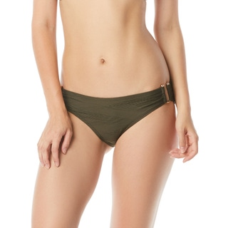 Vince Camuto Texture Smooth Fit Bikini Bottom - Pacific Wave
