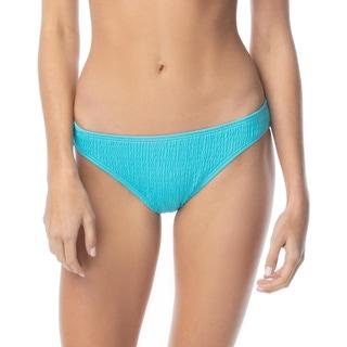 Vince Camuto Smocked Classic Bikini Bottom - Ripple Effect