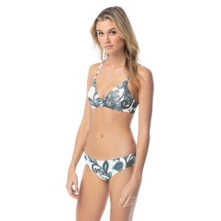 Vince Camuto Molded Bikini Top - Exotic Blooms