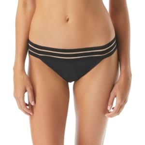 Vince Camuto Mesh Elastic Bikini Bottom - Coast Lines