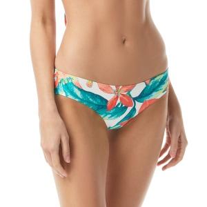 Vince Camuto Shirred Smooth Fit Cheeky Bikini Bottom - Wild Oleander